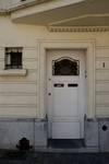Rue Lincoln 1, Uccle, porte d'entrée (© ARCHistory/APEB, photo 2020)