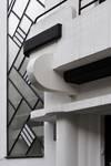 Rue de la Seconde Reine 5, Uccle, détails façade (© ARCHistory/APEB, photo 2020)