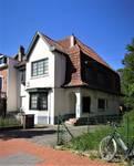 de Limburg Stirumlaan 166, Wemmel, élévation principale (© C. Dubois, photo 2020)