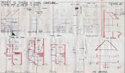 Square du Castel Fleuri 4, Watermael-Boitsfort, élévations, coupe, plans, AUWB/PU.9142, 1934