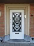 Rue Ernest Gossart 42, Uccle, entrée (© C. Dubois, photo 2020)