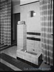 Rue de la Seconde Reine 5, Uccle, fontaine, photo d'époque (Coll.CIVA/AAM, Brussels - W.Kessels © 2019, SOFAM) <a href='https://kessels.ideesculture.fr/index.php/Detail/objects/2120/lang/nl_NL' target=_blank>Plus d'informations à propos de cette photo</a>