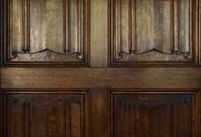 Place de la Grotte 5, Jette, détail d'une porte de la salle à manger (© ARCHistory/APEB, photo 2020)