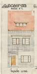 Avenue Jean Vanhaelen 38, Auderghem, élévation principale, ACAud./Urb. 3363, 1931