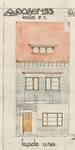 Avenue Jean Vanhaelen 38, Auderghem, élévation principale, ACAud./Urb. 3363, 1931.