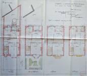 Rue Félix Sterckx 8, Bruxelles Laeken, plans, AVB/TP 51434, 1924