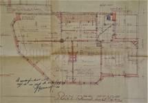 Rue Léopold Ier 248 | Rue Edmond Tollenaere 117, Bruxelles Laeken, plan des étages, AVB/TP 71527, 1932