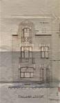 Rue Louis Wittouck 11, Bruxelles Laeken, élévation principale, AVB/TP 54072, 1926
