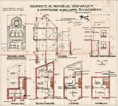 Avenue Léon Mahillon 133, Schaerbeek, élévations, coupe, plans, ACS/Urb. 168/133, 1932