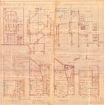 Avenue Milcamps 152, Schaerbeek, élévations, coupe, plans, ACS/Urb. 194/152, 1932