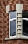 Avenue Coghen 30, Uccle, détail façade (© ARCHistory/APEB, photo 2020)