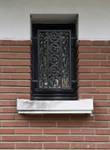 Avenue Coghen 32, Uccle, détail façade (© ARCHistory/APEB, photo 2020 )