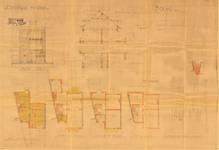 Avenue Coghen 32A, Uccle, élévations, coupe, plans, ACU/Urb. 9134, 1935