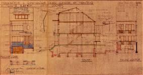 Avenue Coghen 37, Uccle, élévations, coupe, ACU/Urb. 10459, 1937