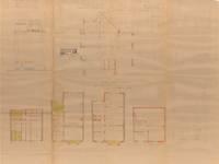 Avenue Coghen 38, Uccle, élévations, coupe, plans, ACU/Urb. 9114, 1935