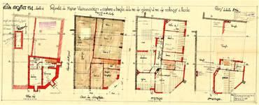 Rue de Cottages 49, Uccle, plans, ACU/Urb. 6585, 1931
