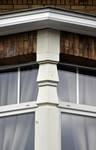 Rue des Glaïeuls 53, Uccle, détail façade (© ARCHistory/APEB, photo 2020)