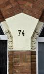 Avenue de Messidor 74, Uccle, détails façade (© ARCHistory/APEB, photo 2020)