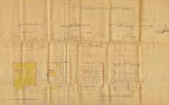 Square du Castel Fleuri 13, Watermael-Boitsfort, élévations, coupe, plans, AUWB/ PU.9451, 1935