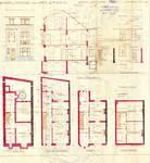 Rue des Augustines 97, Jette, élévations, coupe, plans, ACJette/Urb. 4721, 1927