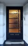 Avenue des Croix du Feu 301, Bruxelles Laeken, porte d'entrée (© ARCHistory/APEB, photo 2020)