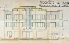 Avenue Prudent Bols 68 | Rue Léopold Ier 218, Bruxelles Laeken, élévation, AVB/TP 43062, 1934
