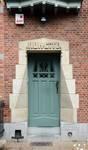 Rue du Cloître 71, Bruxelles Laeken, entrée (© ARCHistory/APEB, photo 2020)