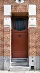 Rue Émile Delva 41, Bruxelles Laeken, entrée (© ARCHistory/APEB, photo 2020)