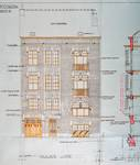 Rue Émile Delva 43, Bruxelles Laeken, élévation principale, AVB/TP 38772, 1928