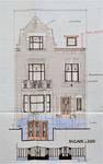 Rue Stuyvenbergh 38, Bruxelles Laeken, élévation principale, AVB/TP 40366, 1929