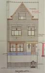 Rue Stuyvenbergh 40, Bruxelles Laeken, élévation principale, premier projet, AVB/TP 37080, mai 1929