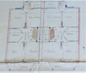 Square Prince Léopold 47, Bruxelles Laeken, plan des étages, AVB/TP 38790 , 1928