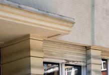 Place Constantin Meunier 20, Forest, détails façade (© ARCHistory/APEB, photo 2020)