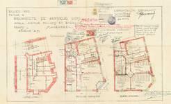Smaragdlaan 2 | Milcampslaan 195, Schaarbeek, grondplannen, GAS/DS 75-2, 1933