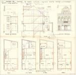 Avenue Milcamps 146, Schaerbeek, élévations, coupe, plans, ACS/Urb. 194/146, 1931