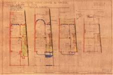 Avenue Coghen 37, Uccle, plans, ACU/Urb. 10459, 1937