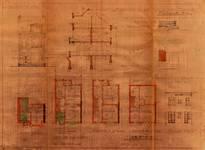 Avenue Coghen 66, Uccle, élévations, coupe, plans, ACU/Urb. 9011, 1935
