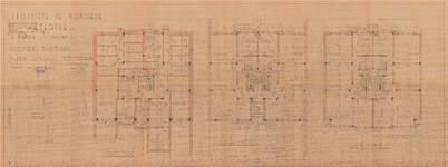 Avenue Coghen 160, Uccle, plans, ACU/Urb. 11416, 1939