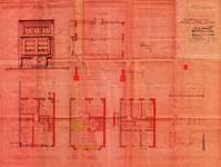 Avenue Prekelinden 10, Woluwe-Saint-Lambert, élévations, coupe, plans, ACWSL/Urb. 4578, 1935