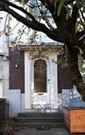 Avenue des Cerisiers 117, Woluwe-Saint-Lambert, porte d'entrée (© S. Ferooz, photo 2019)