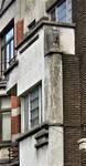Avenue Gounod 38A, Anderlecht, détail de la façade (© C. Dubois, photo 2020)