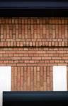 Rue Guillaume Crock 22, Auderghem, détail de l'appareillage des briques (© ARCHistory/APEB, photo 2020)