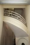 Avenue des Croix du Feu 303, Bruxelles Laeken, hall d'entrée et escalier (© ARCHistory/APEB, photo 2020)