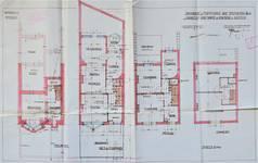 Rue Stuyvenbergh 40, Bruxelles Laeken, plans, premier projet, AVB/TP 37080, mai 1929