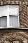 Avenue de l'Université 106, Ixelles, détail de l'appareillage de briques (© ARCHistory/APEB, photo 2020)