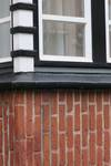 Rue Remy Soetens 6, Jette, façade, détail d'une fenêtre au rez-de-chaussée (© ARCHistory/APEB, photo 2020)