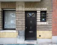 Avenue de l'Émeraude 2A, Schaerbeek, entrée (© ARCHistory/APEB, photo 2020)