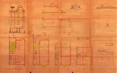 Avenue Coghen 30, Uccle, élévations, coupe, plans, ACU/Urb. 8830, 1935