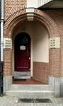 Rue des Glaïeuls 29, Uccle, porte d'entrée (© ARCHistory/APEB, photo 2020)