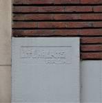 Avenue des Cerisiers 117, Woluwe-Saint-Lambert, signature (© C. Dubois, photo 2019)